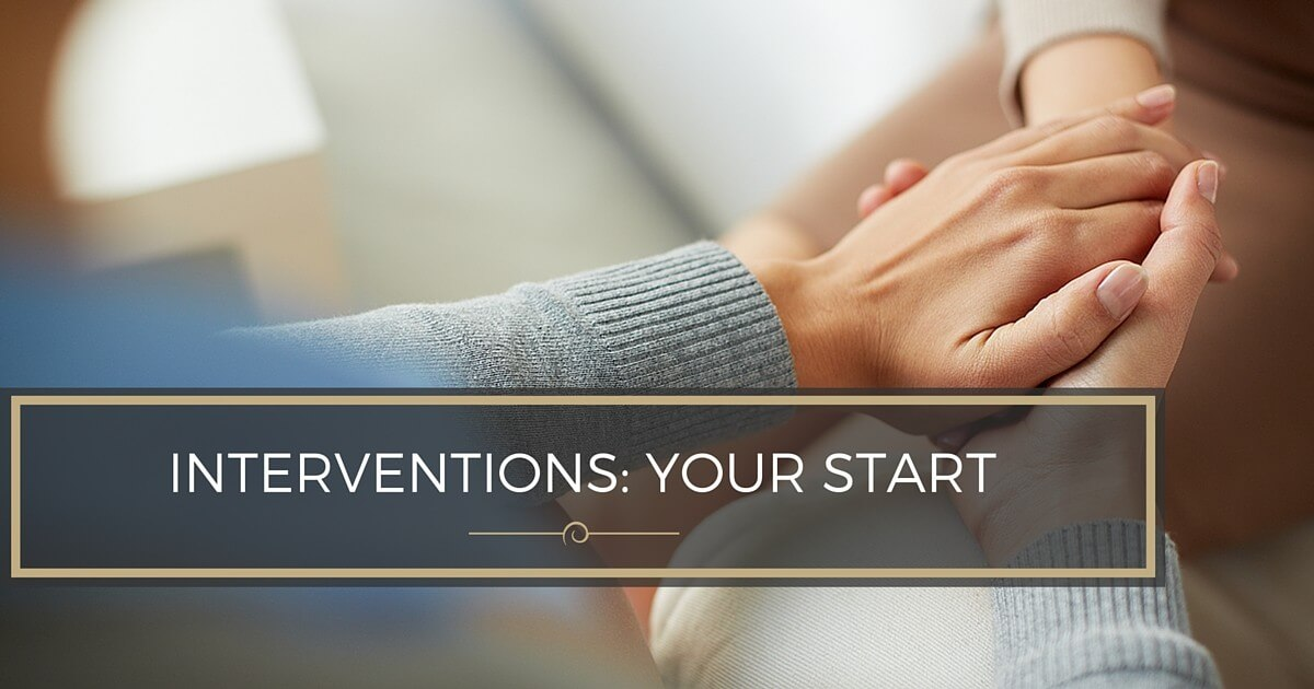 When to Seek Help from an Interventionist